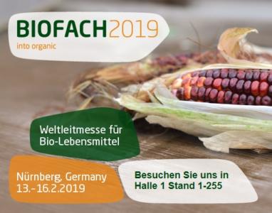 BIOFACH 2019 – Nuremberg