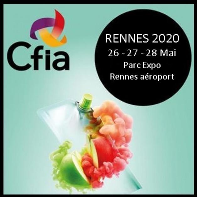 CFIA Rennes wordt uitgesteld van maart naar mei !
