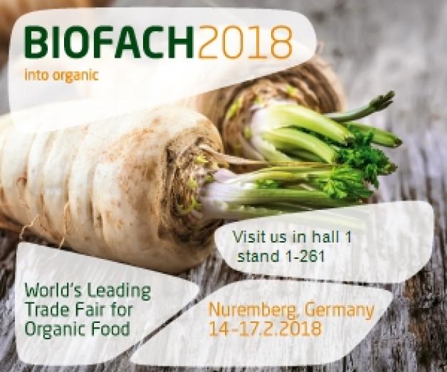 Salon BIOFACH Nuremberg 2018